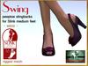 Bliensen + MaiTai - Swing - vintage Shoes for Slink Mid - Wine