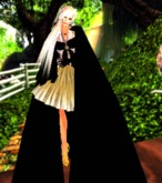 caped anime girl avatar and outfit