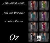 // OZ\\ BERRY SOCKS