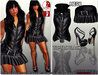 Female outfit DAFNIS TIC TAC + slink heels for high feet (feet no include)