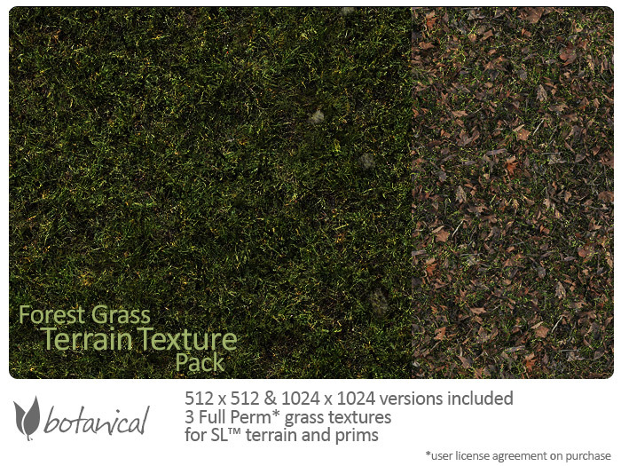 Botanical - Forest Grass Textures
