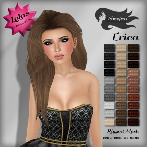*NEW RELEASE* Tameless Hair Erica (MESH) - Naturals