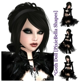 *Goth Doll [PixieBella Shapes]