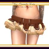 The Seventh Exile: Cake Cake Cake! Skirt - Chocolate