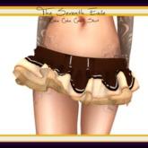The Seventh Exile: Cake Cake Cake! Skirt - Dark Chocolate