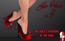 .S&C. Crave Heels v2 - Red for Slink High Feet