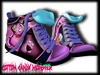 {C.C.M.} Cartoon Mesh Sneakers - Courage the Cowardly Dog