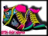 {C.C.M.} Cartoon Mesh Sneakers - Adventure Time