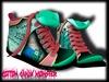 {C.C.M.} Cartoon Mesh Sneakers - BMO