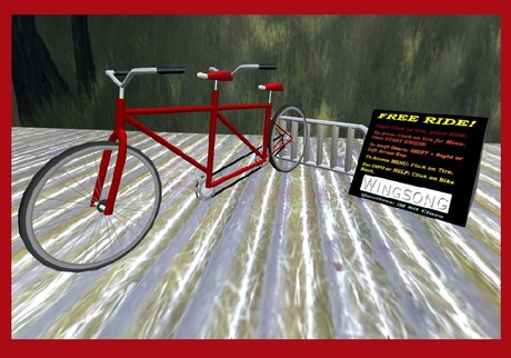 Wingsong Rezzer: Bicycle Tandem RIDE V3 Box