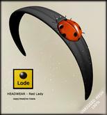 *LODE* Headwear - RedLady