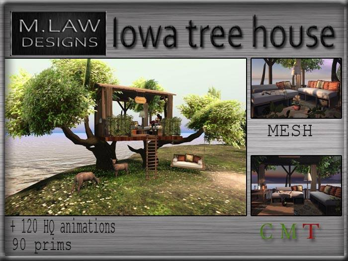 .:M.LAW:.  Iowa Tree House Box
