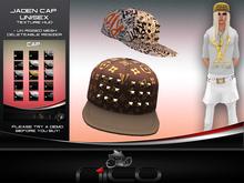 N1CO Unisex Jaden Cap + Texture HUD (mesh) BAGGED