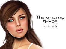 TweetySHAPE -  AMAZING bodymesh CURVY and shorty SHAPE