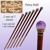 Thadovian LTD Fancy Staves - Full Set box