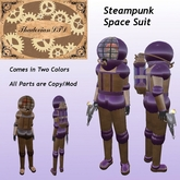 Thadovian LTD Steampunk Space Suit - Painted and Plain