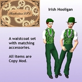 Thadovian LTD Irish Hooligan Outfit -St Patrick    tagStPatricksDay tagSteampunk
