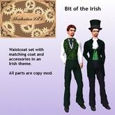 Thadovian LTD Bit of the Irish Victorian outfit - St Patrick   tagStPatricksDay tagSteampunk