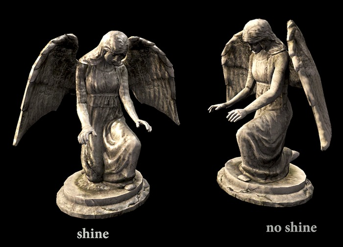 Angel Statue - Full Perm