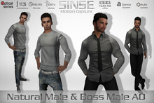 [SINSE] Natural Male & Boss Male AO Motion Capture Optical Series