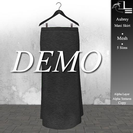 DE Designs - Aubrey - Maxi Skirt - DEMO