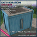 Full Perm TEXTURES Add-On Set for MARU BBQ - COLOURED