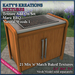 Full Perm TEXTURES Add-On Set for MARU BBQ - NATURAL
