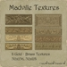 Madville Textures - Ornamental Gold Brass Textures