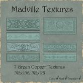 Madville Textures - Ornamental Green Copper Textures