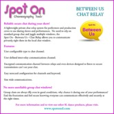 Spot On - Between Us - Chat Relay V1.1 CMnt (Boxed)