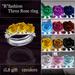 """R""fashion Three Rose ring_1L$gift  (wear me)"
