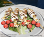 Aphrodite seafood: grilled squids platter