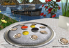 Aphrodite seafood: Fully animated Caviar & oysters platter