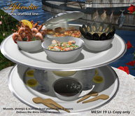 Aphrodite seafood: Mussels, shrimps and scallops feast platter