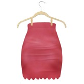 Sun*Love - Rhonda Skirt Red