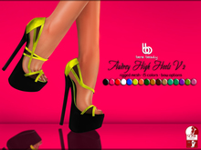 Bens Boutique - Audrey High Heel V2 (Slink High Feet)