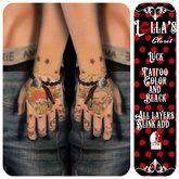 :LoLla's: Closet Tattoo H {Luck Black & Color}