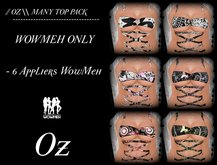 // OZ \\ MANY TOP PACK