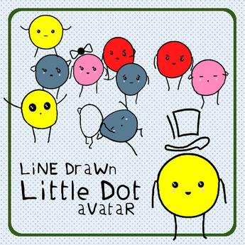 LiNe DraWn: Little Dot Avatar