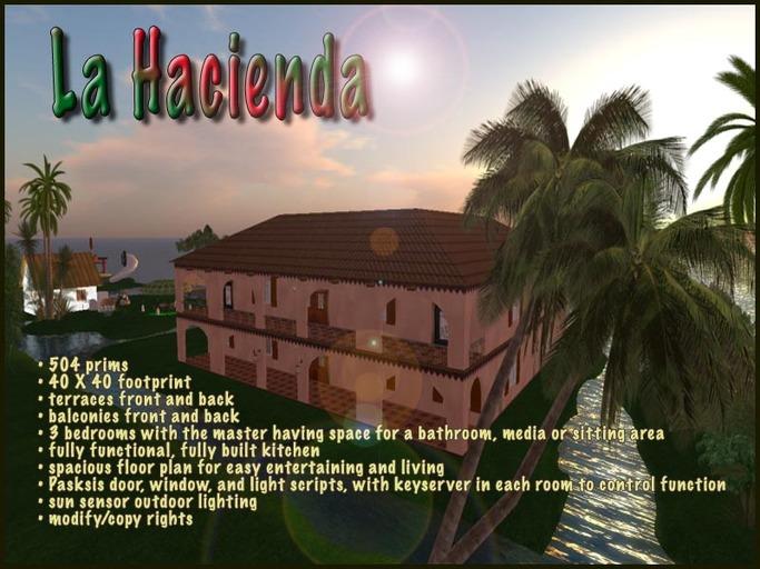 La Hacienda Spanish Mansion Prefab House