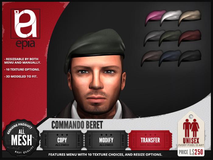 (epia) - Commando Beret