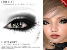 AVELINE Mesh Eyes - Doll-XS - Hazel Grey v2.0 (BOXED)
