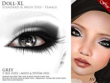 AVELINE Mesh Eyes - Doll-XL -Grey v2.0 (BOXED)