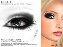 AVELINE Mesh Eyes - Doll-L - Midnight Blue v2.0 (BOXED)
