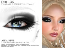 AVELINE Mesh Eyes - Doll-XS - Aida Blue v2.0 (BOXED)