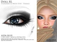 AVELINE Mesh Eyes - Doll-XL - Aida Blue v2.0 (BOXED)