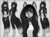 Kemono fox black