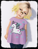KiddyWinks [TD Clothing!] * Unicorn T-Shirt Mesh
