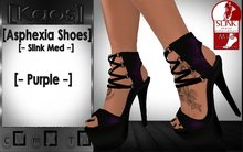 [Kaos] Asphexia Shoes - Slink Med - Purple
