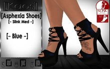 [Kaos] Asphexia Shoes - Slink Med - Blue